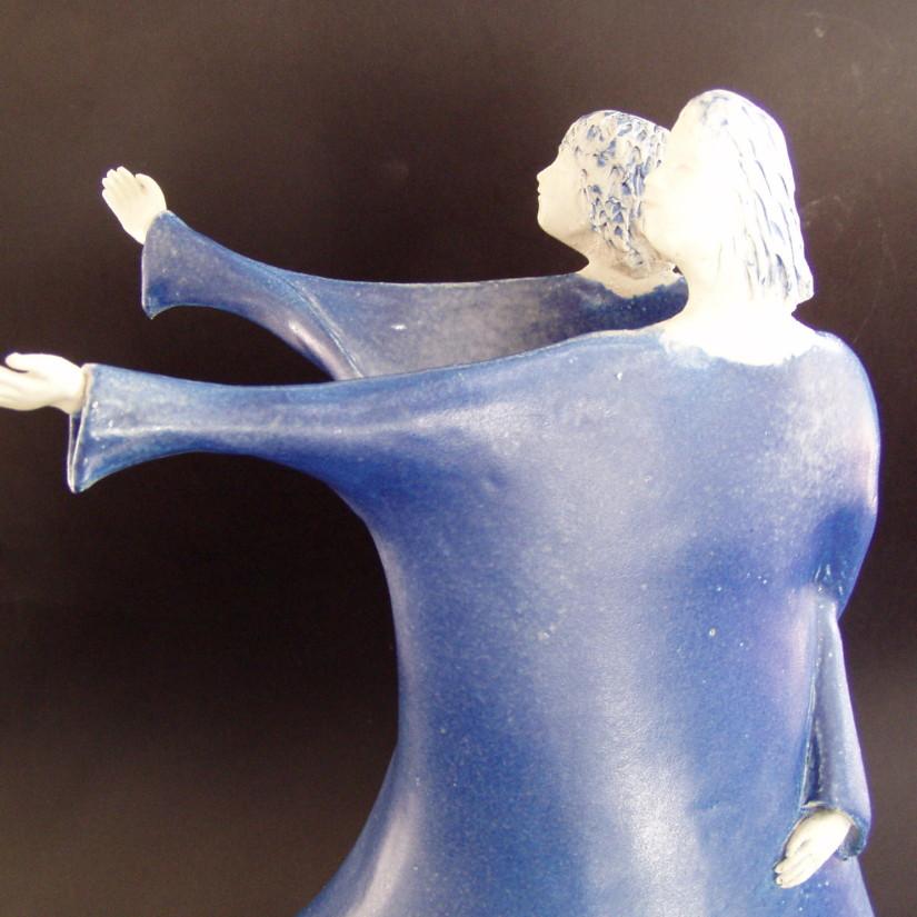 blauwe dans